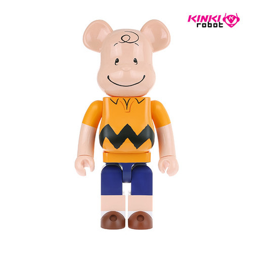 1000%BEARBRICK CHARLIE BROWN