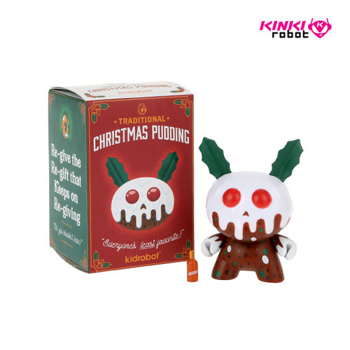 DUNNY XMAS PUDDING BY KRONK 3""