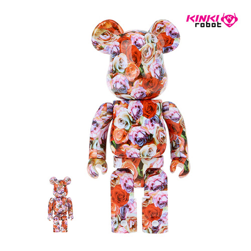 400%+100%BEARBRICK MIKA NINAGAWA ROSE  (PLUS LIMITED ITEM)
