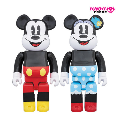 [신사점] 1000%BEARBRICK MICKEY MOUSE, MINNIE MOUSE