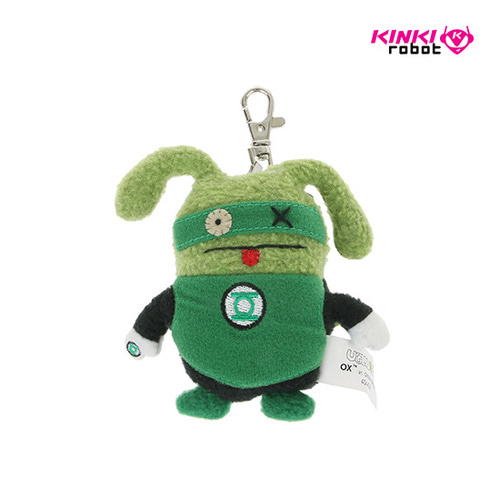 CLIP ON_DC GREEN LANTERN OX