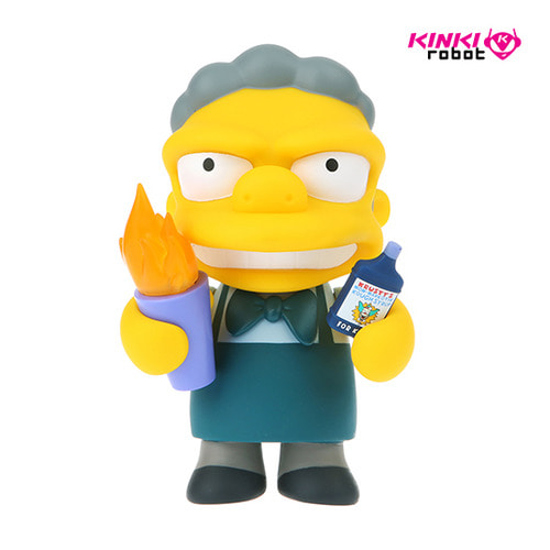 SIMPSONS FLAMING MOE MEDIUM FIGURE