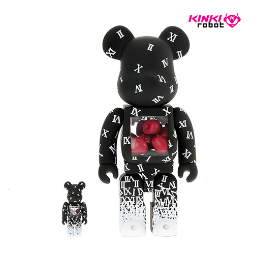400%+100%BEARBRICK SHAREEF