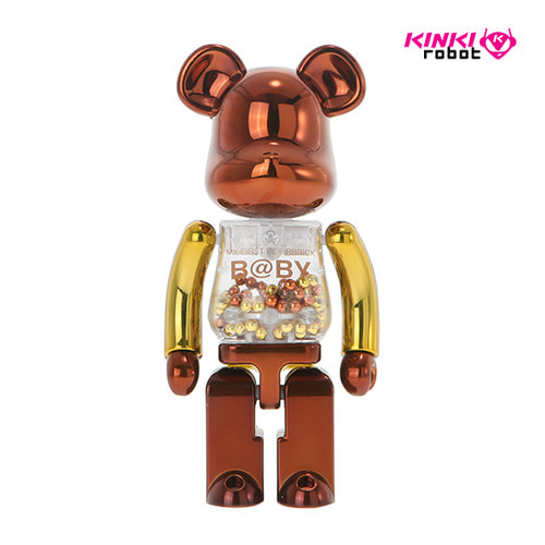 200%BEARBRICK MY FIRST BEARBRICK BABY STEAMPUNK VER.