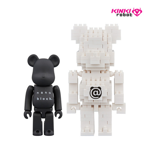 BEARBRICK x NANOBLOCK 2PACK B SET