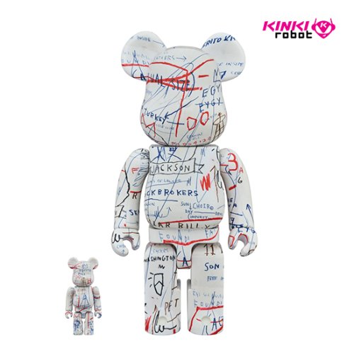 400%+100%BEARBRICK JEAN-MICHEL BASQUIAT #2