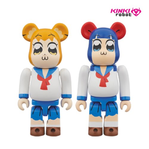 100%BEARBRICK POP TEAM EPIC 2PACK