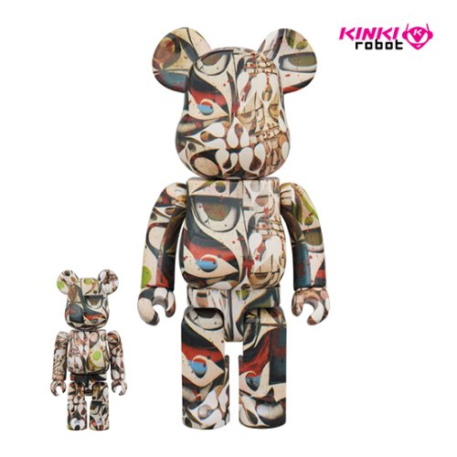 400%+100%BEARBRICK PHIL FROST