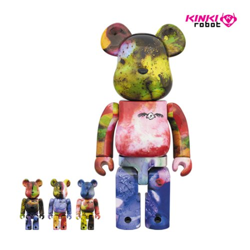 400%&100%BEARBRICK PUSHEAD 4SET