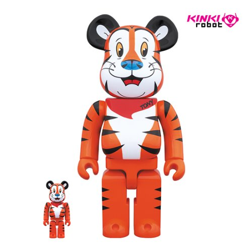 400%+100%BEARBRICK TONY THE TIGER