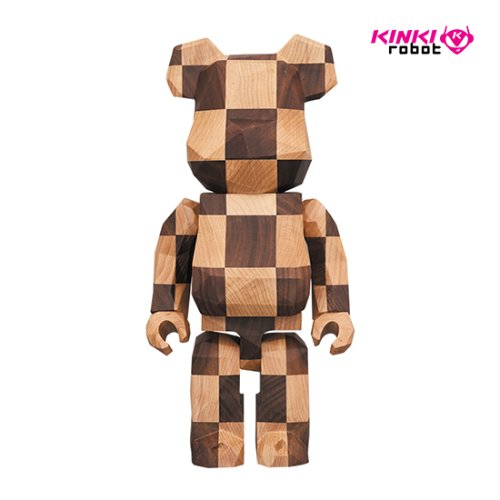 400%BEARBRICK KARIMOKU FRAGMENTDESIGN POLYGON CHESS