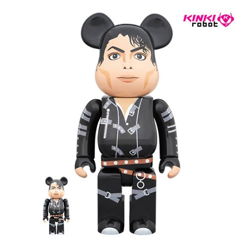 400%+100%BEARBRICK MICHAEL JACKSON BAD