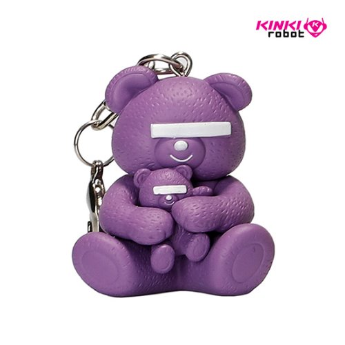 UNDERCOVER BEAR KEYCAHIN (LAVENDER)