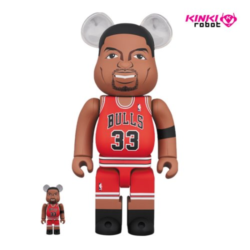 400%+100%BEARBRICK SCOTTIE PIPPEN (CHICAGO BULLS) (프리오더)
