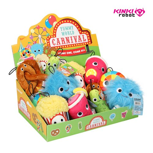 YUMMY WORLD CARNIVAL SMALL PLUSH ASSORTMENT (홀케이스)