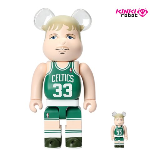 400%+100%BEARBRICK LARRY BIRD (BOSTON CELTICS)