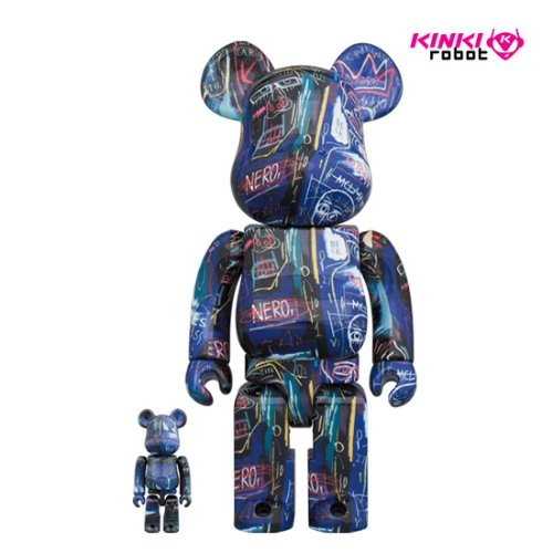 400%+100%, 1000%BEARBRICK JEAN-MICHEL BASQUIAT # 7 (프리오더)