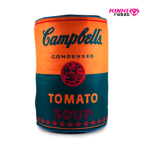 Andy Warhol Soup Can Plush(XL)
