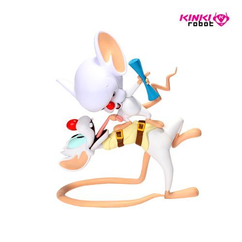 PINKY AND THE BRAIN ART FIGURE