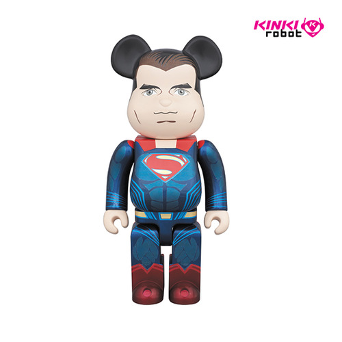 1000% BEARBRICK SUPERMAN
