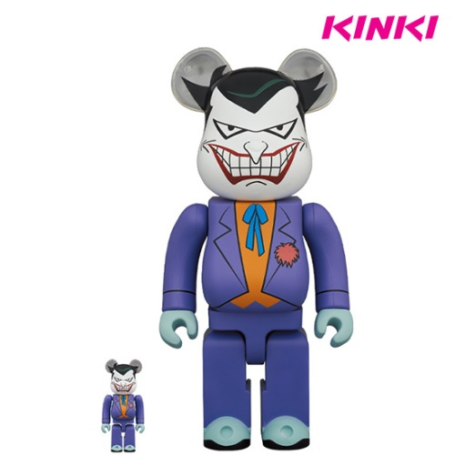 400%+100%BEARBRICK JOKER (BATMAN THE ANIMATED SERIES VERSION)